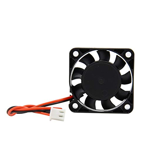HUANRUOBAIHUO 4010 Cooler Fan 12V 24V 2 Pin with Dupont Wire Brushless 40 * 40 * 10 Cool Fans Part Quiet DC 40m Cooler Radiato 3D Printers Parts 3D Printer Parts (Size : 24V)