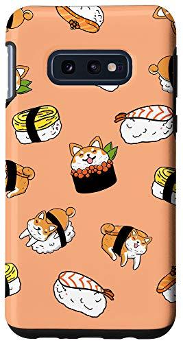 Galaxy S10e Shiba Inu Mixed Sushi Funny Japanese Food Pun Dog Lover Gift Case