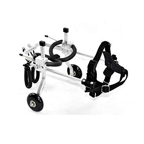 ZPWSNH Set Hond Huisdier Rolstoel/Achterbeen Reparatie / 2 Wiel Hond Cart/Huisdier Rehabilitatie Training Auto Huisdier autostoel