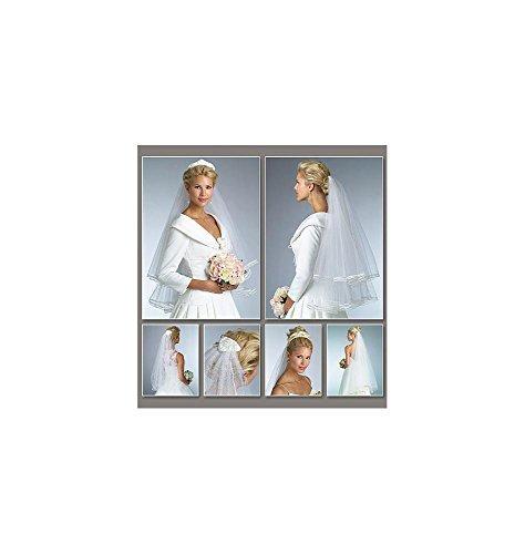 Vogue Patterns V8374 - Patrones de costura para vestidos de novia (talla...