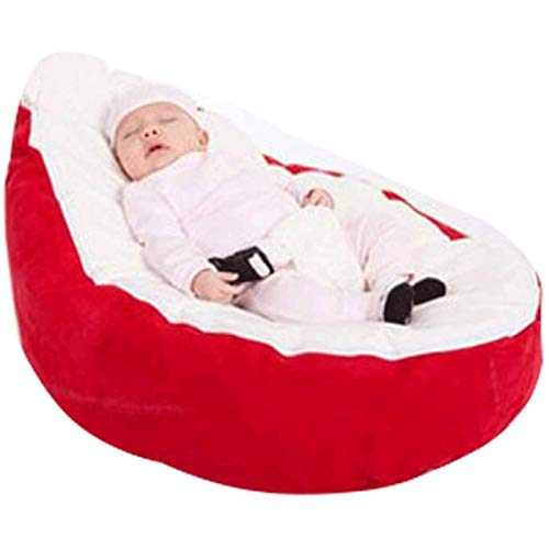 HengYue Lazy Couch Baby Bean Bag Support Chair Baby Bean Bag Baby Feeding Leisure Activity Bed,B