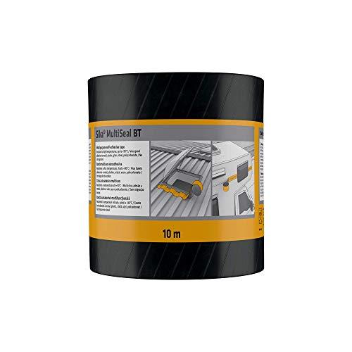 Sika 3734 MultiSeal Abdichtungsband, selbstklebend, Kaltkleber, 200mmx10m, Farbe: Grau