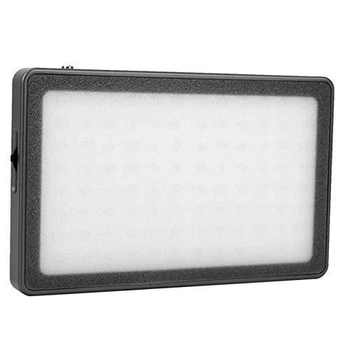 Luz de Video LED, VBESTLIFE MFL-05 3000K-6500K CRI96 + Luz de Relleno LED, Fotografía fotográfica para Maquillaje Video Youtube Vlogging Transmisión en Vivo(Black)