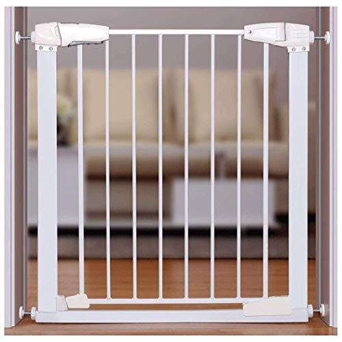 FCXBQ Cancello per Animali Domestici Porta per Bar Bar Recinzione per Cani Recinzione per ringhiera per Orsacchiotto per Cani di Grandi Dimensioni Recinzione per Cani di Piccola Taglia Doppia chiu
