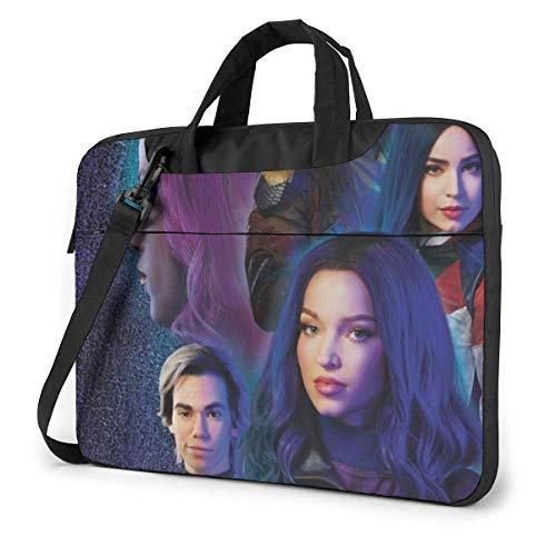 Whecom Descendants 3 15.6 Inch 13-inch 14-inch Laptop Bag 15.6-inch Laptop Shoulder Messenger Bag Handbag