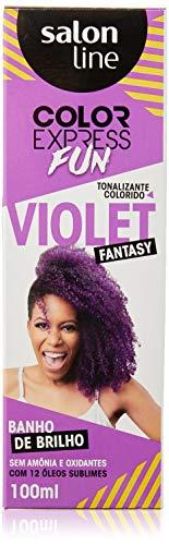 Kit Color Express Fun Violet Fantasy, Salon Line, Salon Line