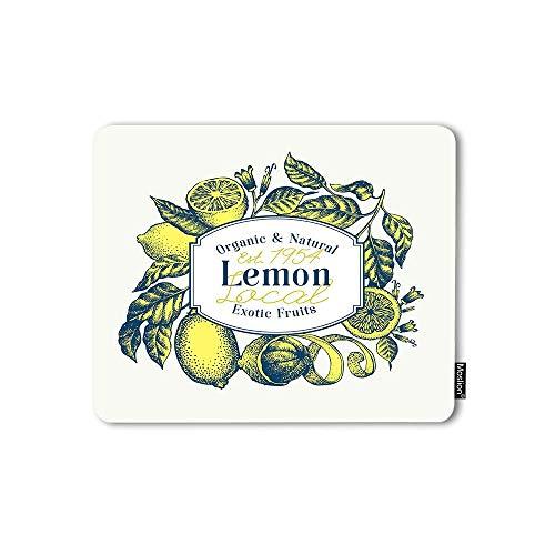 Mauspad Zitrone Bio Natürliche...