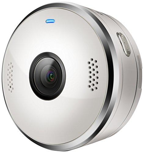 Motorola VerveCam+ | Wasserdichte Tragbare Live Stream Mini-Kamera für Social Media und Vlog | QHD 2.5K IP68 | Weiße