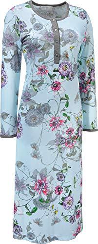 Hutschreuther Damen-Nachthemd Single-Jersey eisblau Größe 38