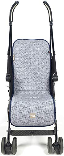 Walking Mum W. Stories - Colchoneta para silla, unisex, color azul