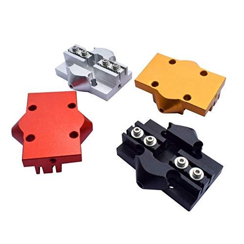 Accessori per stampante 4 pezzi stampante 3D Kossel Effector Carrello alluminio Delta Mini Kossel Slider M3 / M4 con attrezzatura a vite adatto per cintura a circuito chiuso Accessori per la stampa 3D