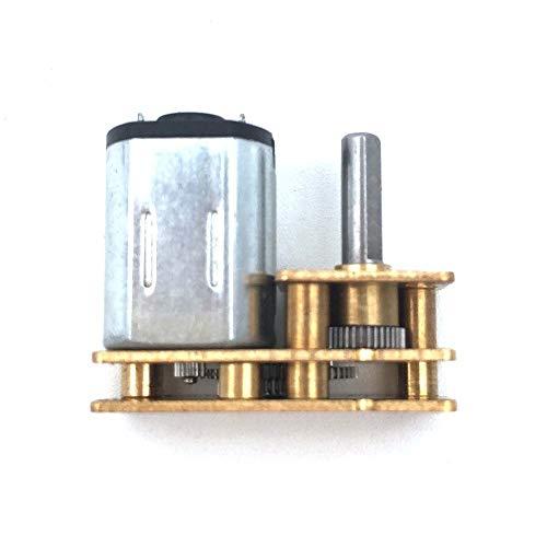 NO LOGO WJN-Motor, 1pc DC 3V 6V Micro Speed Gear Motor N20 Reduction Gear Motor 20-2000RPM Mini Electric Getriebe Motor for Auto-Roboter-Modell (Größe : 6V 600RPM)