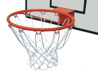 Generico Canestro Basket Regolamentare in Acciaio Verniciato con Rete in Nylon