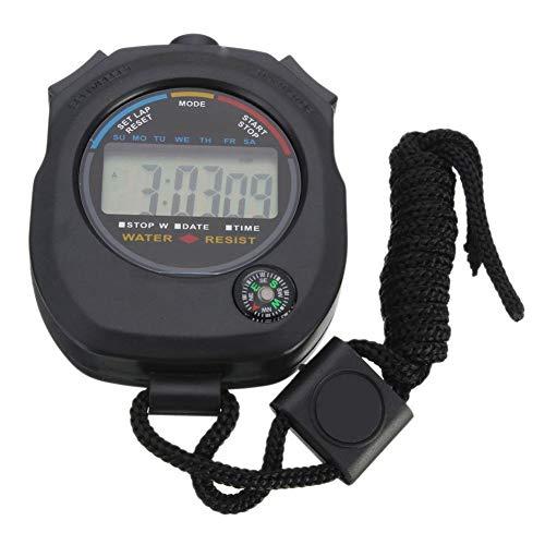 Blue Vesse Timer Fitness Lauftisch Elektronische Zähler Wecker Stoppuhr Kreative Elektronische Geschenke,Klein und Kompakt
