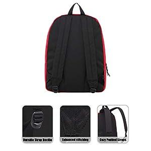 41iaayGjEAL. SS300  - Hotstyle SIMPLAY Mochila Escolar Clásico, 44x30x12,5cm, Rojo