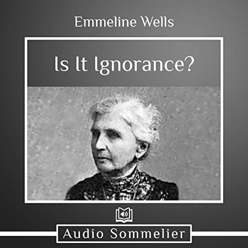 Is It Ignorance? audiobook cover art