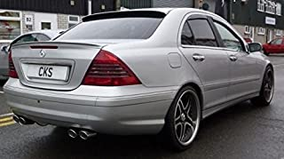 DYNAMIC PERFORMANCE Mercedes W203 C Class Saloon Sedan Limo Roof Window Spoiler AMG Carlsson Brabus