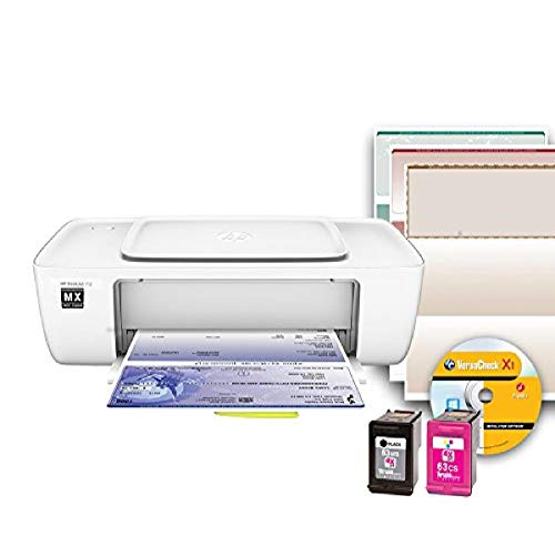 VersaCheck HP Deskjet 1112MX - MICR Printer, White, Small