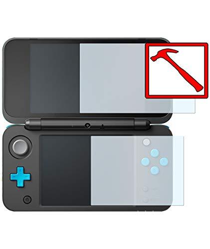 Slabo 4 x Premium Pellicola Protettiva in Vetro Temperato per Nintendo New 2DS XL Tempered Glass Crystal Clear 9H