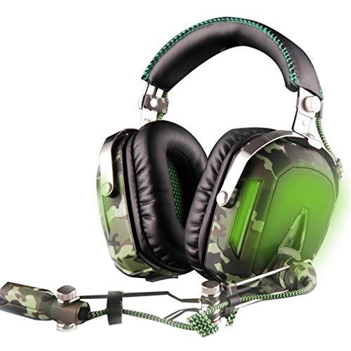 CCYOO Pilot USB 7.1 Surround Sound Gaming Headset Kopfhörer Mit Mikrofon Noise Isolation Breathing Light Für PC Laptop