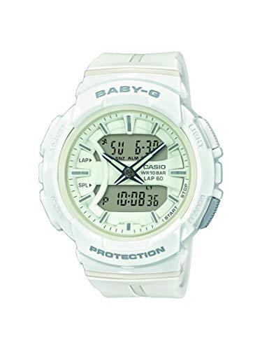 BABY-G Damen Analog-Digital Quarz Uhr mit Harz Armband BGA-240BC-7AER