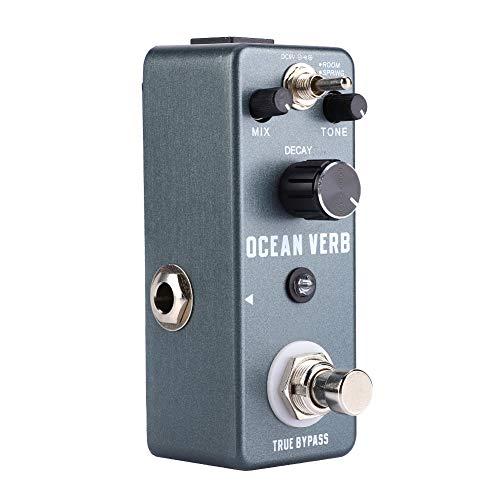 Vibe Effect Pedal, Portable Blue Durable Effect Pedal Guitar Vibe Effect Pedal Stable for Amplifier