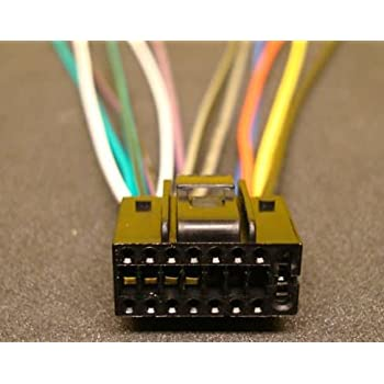 Amazon.com: Xtenzi 16 Pin Wire Harness Power Plug Compatible with Pyle CD  MP3 DVD PLDN750D: Car Electronics   Pyle Audio Wire Harness      Amazon.com