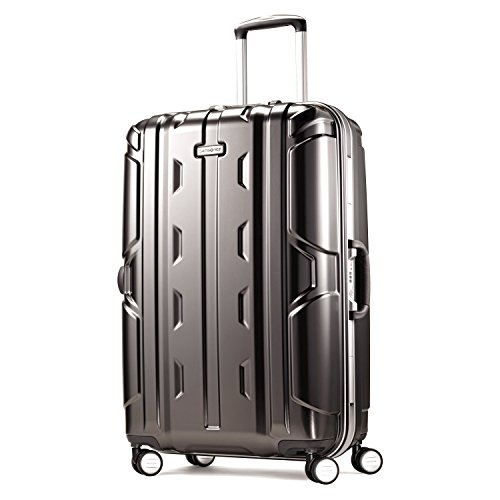 Samsonite Cruisair DLX Hardside Luggage with Spinner Wheels, Anthracite, Checked-Medium 26-Inch