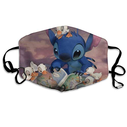 Lilo Stitch stofmaskers om te lezen, cartoon, posters, mond, masker, hoesten, bescherming, warm, winddicht
