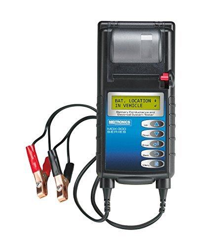 Midtronics Analizador de baterías de 12V y sistema eléctrico con impresora integrada MDX-335P