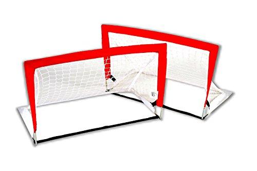 Bandito Funhockey Feldhockey Tor-Set Quadro