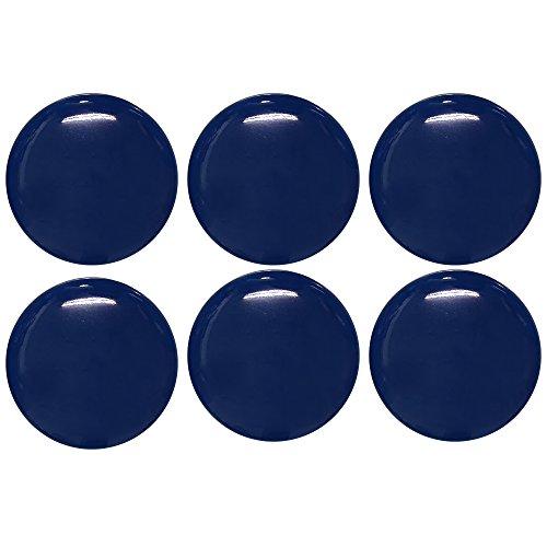 NASKA リレ・スキップ マーブルボタン 直径11.5mm 6個入 Col.501 青 LSB-15