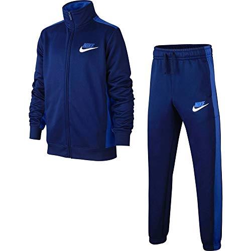 Nike Kinder NSW Ce Anzug Pk Basic Trainingsanzug, Blue Void/Game Royal/White, L