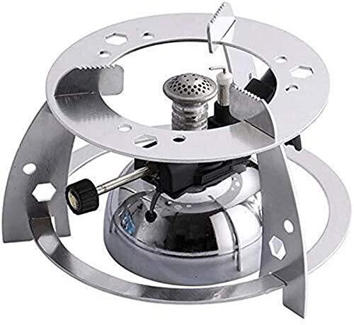 Oevina Tabletop-Butan-Gasbrenner mit Flamme Kopf for Syphon Kaffee Heizung Maker Kaffeemaschine Mokka Pot Gasherd