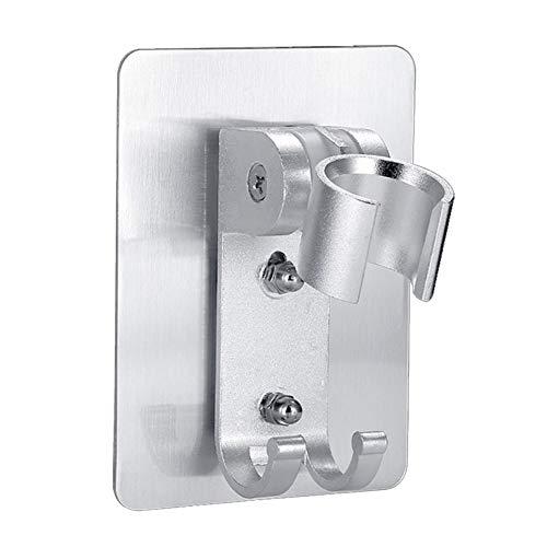 Alcachofa de la ducha Soporte de cabezal de ducha adhesivo fuerte, soporte de cabeza de ducha de gel de pared, soporte de soporte de soporte de mano de mano, baño de ducha de baño. Hardware de ducha