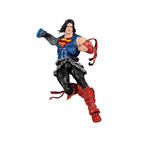 McFarlane DC Build-A 17,8 cm Figur WV4 - Death Metal - Superman