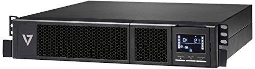 V7 UPS1RM2U1500-1E USV 1500VA Rack Mount 2U  (1350W, 8 Ausgänge IEC-C13, AVR, LCD-Display, EU+UK)