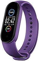 ZSTT Fitness Tracker Cardiofrequenzimetro Tracker di attività M5 Orologio con Contapassi Contacalorie Impermeabile 14...