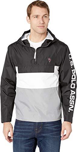 U.S. Polo Assn. Color Block Windbreaker Black XL