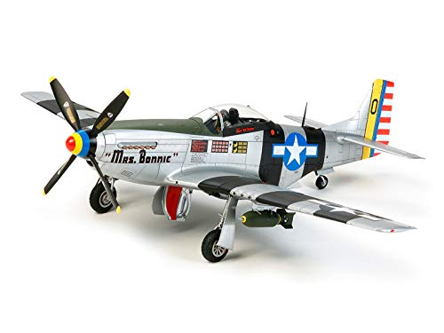 Tamiya 1/32 North American P-51D/K Mustang Pacific Theater Giocattolo