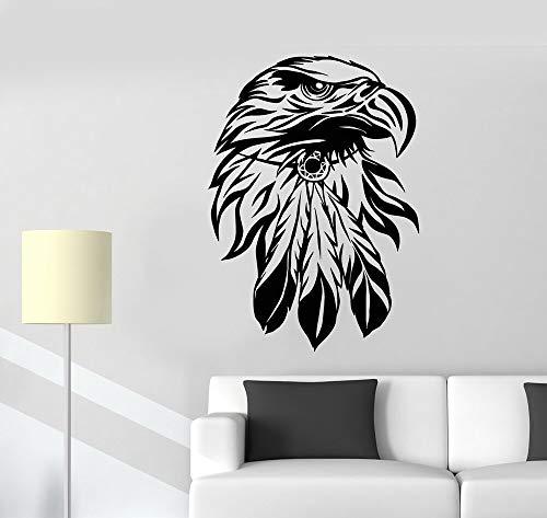 yaonuli Condor muur decal woonkamer interieur vogel hoofd Amerikaanse symbool sticker slaapkamer dier vinyl muur sticker
