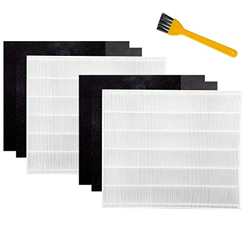 Yours 2 Premium HEPA Filter Including 4 Carbon Pre Filters Compatible with AP-1512HH 3304899 CW Air Purifier Advanced Filters