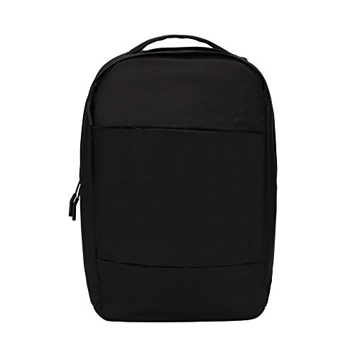 Incase Unisex City Compact Diamond Ripstop Backpack Bag Black