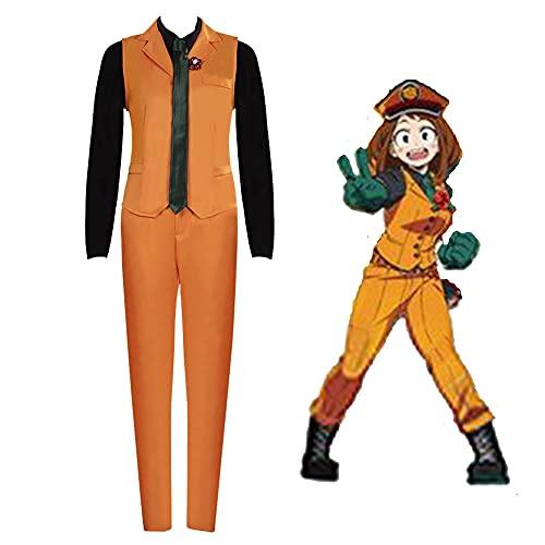 My Hero Academia Cosplay Disfraz Bakugou Izuku Todoroki Shoto Vestido Chaqueta Pantalones Camisas Cosplay Peluca Shigaraki Tomura Jiro Kyoka Uniforme Escuela Falda Pantalones Traje Halloween Navidad