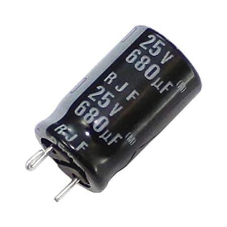 10x Elko Kondensator Radial 680µf 25v 105 C Rjf 25v681mh4 N F49 680uf Beleuchtung