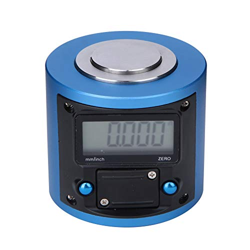 Digital Pre-setter,0~2mm Digital LCD Display Pre-Setter Z Axle Positioning Tool 0.01mm/0.0005in Resolution