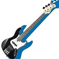 バッカスのミニ・ジャズ・ベース|Bacchus UNIVERSE Series WJB-mini BLK/初心者や女性、ギタリストにも!! (BLK/ブラック)