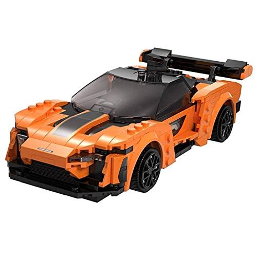 Technic - Coche deportivo con control remoto, 295 bloques de sujeción con tecnología para coche, supercoche, juguete de construcción compatible con Lego Technic