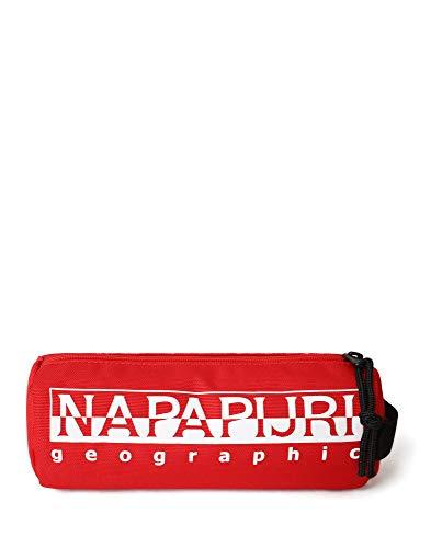 Napapijri - Astuccio Happy Pc Re, 22 cm, Rosso accesso (Rosso) - NP0A4EA3