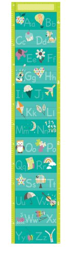 wall growth chart decal - 4